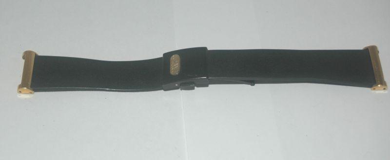 iwc porsche design kautschuk armband 16mm neuwertig ebay. Black Bedroom Furniture Sets. Home Design Ideas